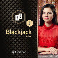 Blackjack J by Evolution
