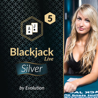 Blackjack Silver 5 by Evolution