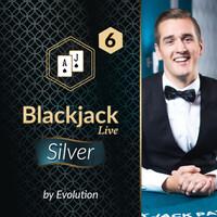 Blackjack Silver 6 by Evolution
