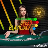 Live Majority Rules Speed Blackjack By PlayTech