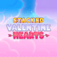 Stacked Valentines Hearts